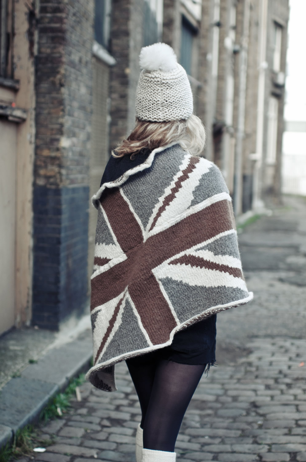 Portrait Union Jack