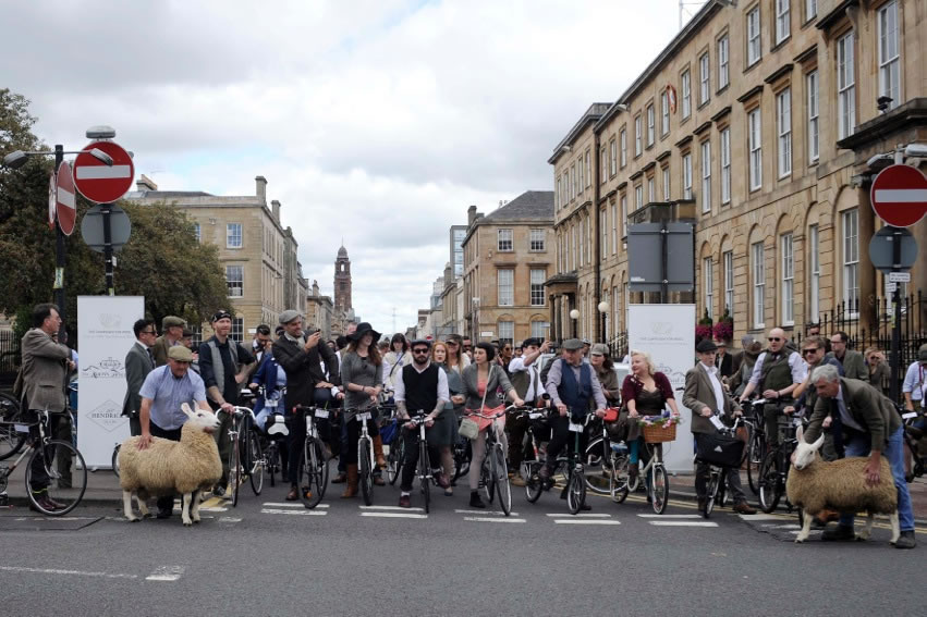The Harris Tweed Ride 2014