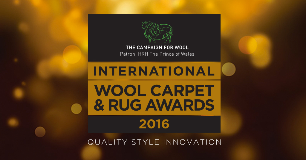 The Campaign for Wool's first International Wool Carpet & Rug Awards 2016