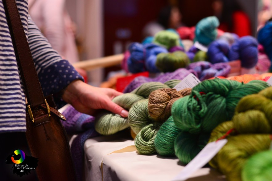 Edinburgh Yarn Festival, Corn Exchange 2015
